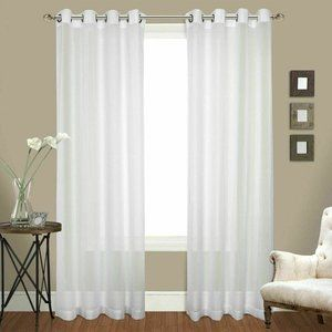 Luxury Collection Venetian Sheer Crushed 2 Curtain